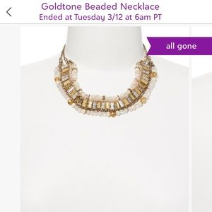 Jewelry - Beaded bib necklace